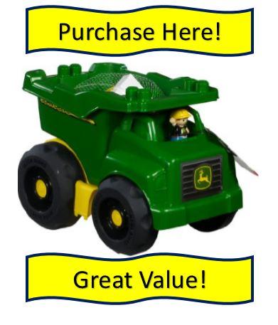 John Deere Mega Bloks Tractor