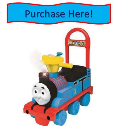 Thomas the train push and ride toy