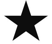 black star rating