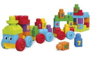 Mega Blok Learning Train