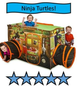 Playhut Teenage Mutant Ninja Turtle Shell Raiser Vehicle Tent