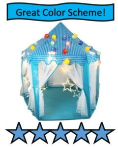 Tieno Princess Castle Playhouse Tent