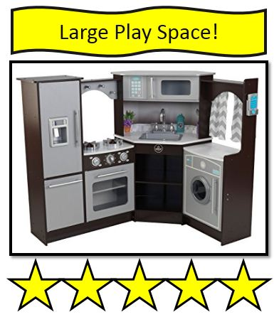 KidKraft ultimate corner play kitchen set.