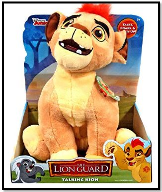 Disney Lion Guard Kion Talking Plush Toy