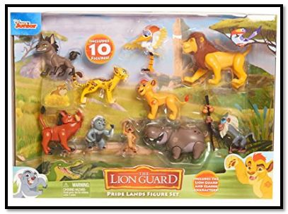 Lion Guard Deluxe Figure Set for Sale