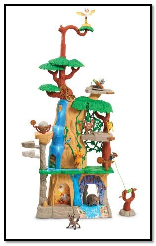 The Lion Guard Training Lair Playset