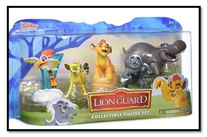 Standard Disney Lion Guard Figures Pack –