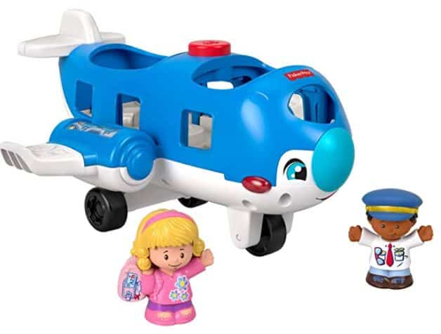 Little People Travel Today Airplane