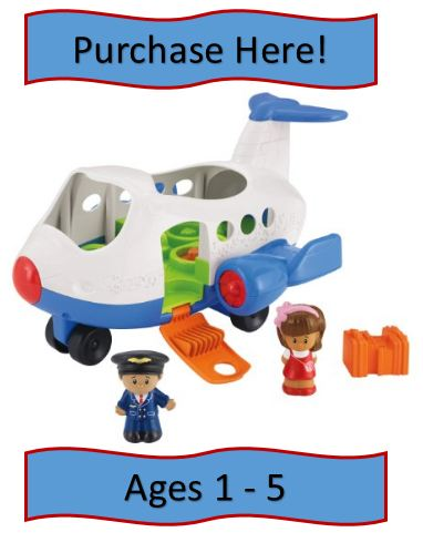 Fisher-Price Little Person Toy Airplane Review
