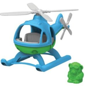 Green Toys hellicopter