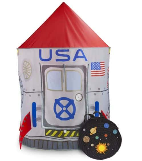 Imagination generation space adventure rocket play tent