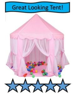 Kid Indoor Princess Castle Play Tent