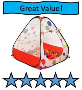 Kiddey Kids Pop Up Play Tent