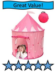 Kiddey Princess Castle Play Tent