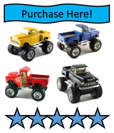 Monster Truck Toy Set