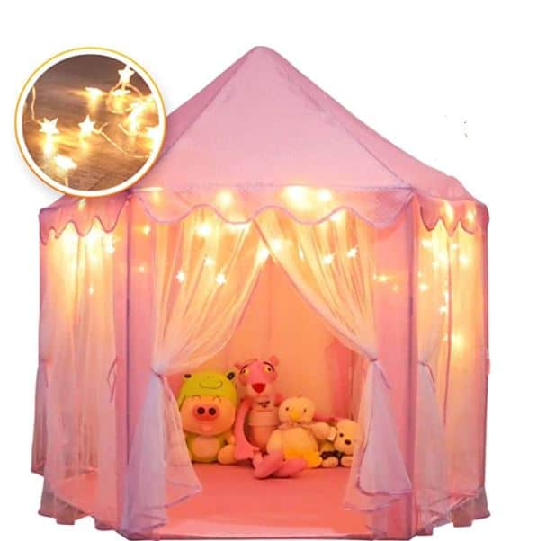 Orian Princess Castle Playhouse Tent
