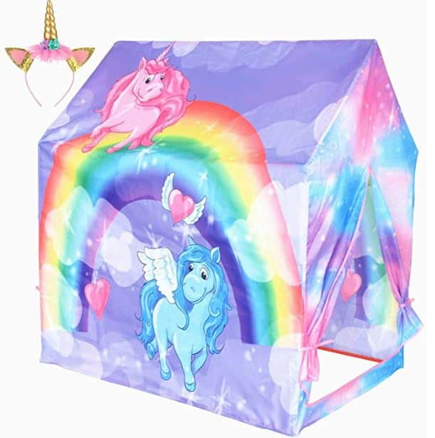 Play 10 Unicorn Indoor Playhouse