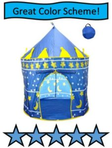 POCO DIVO Blue Star Castle Play Tent