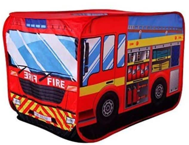 POCO DIVO Fire Engine Truck Pop-up Play Tent Kids