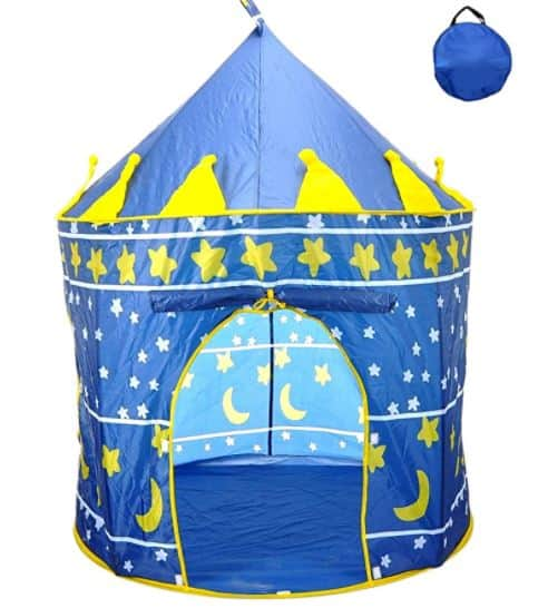 Poco divo star castle indoor play tent