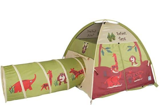 Pacific Play Tents Kids Safari Dome Tent With Tunnel