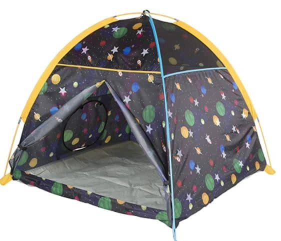 Pacific Play Tents 41200 Kids Galaxy Dome Tent w/Glow in the Dark Stars
