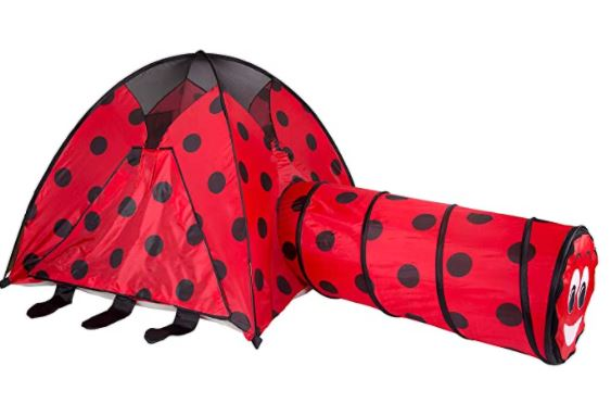 Pacific Play Tents Lady Bug Tent with Tunnel