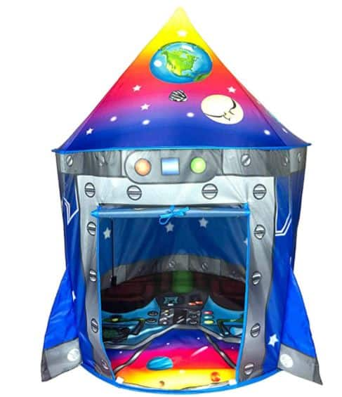 Rocket Ship Play Tent Reviewed!