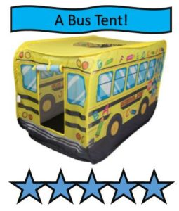 School Bus Kids Indoor and Outdoor Play Tent