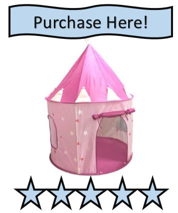pink castle indoor play tent reviewed
