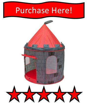 Indoor castle play tent reviewed