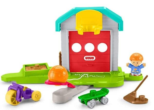 Fisher-Price Little People Big Helpers Garage