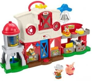 Little People Caring for Animals Farm Set
