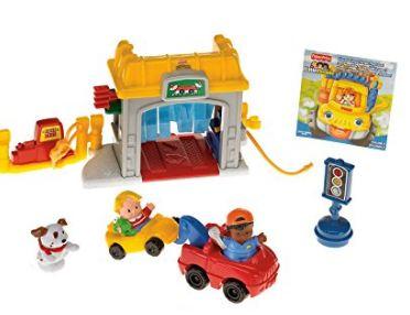 Little People Mini Garage Toy