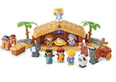 Little People Christmas Story Toy Set