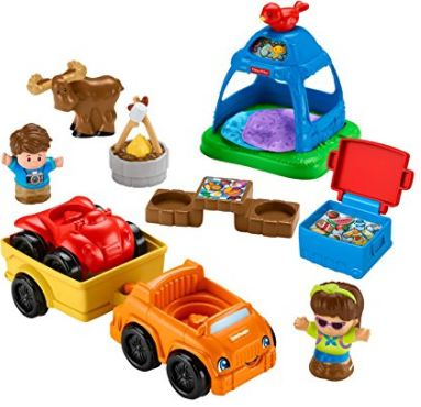 Little People Going Camping playset