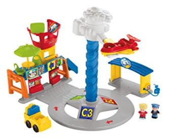 Little People Spinnin Sounds Airport Toy