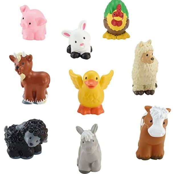 Little People Toy Farm Animal Set