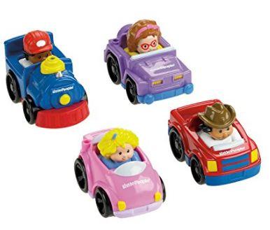 Little People Wheelies Toy Car Set