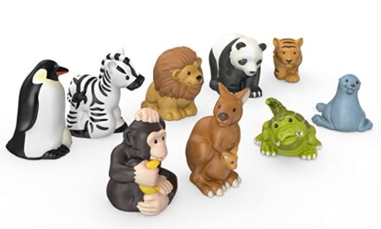 Little People Toy Zoo Animals Pack