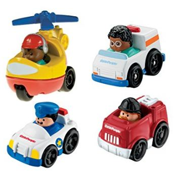 Little People Toys Community Helpers Vehicle Pack