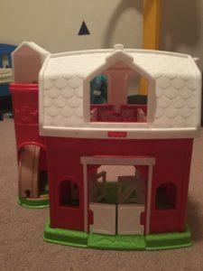 The farm set toy