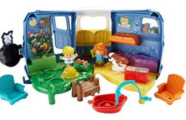 Little People Toy Camper