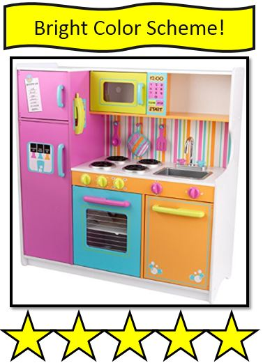 KidKraft Deluxe Big & Bright Kitchen –