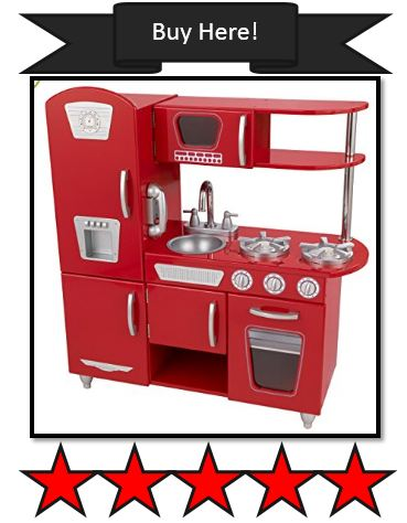 Red KidKraft Retro Kitchen