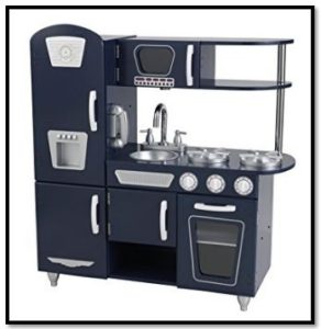 Dark Blue KidKraft Retro Kitchen