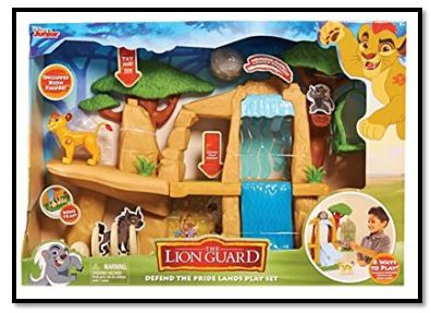 Disney Lion Guard Battle for the Pride Lands Play Set