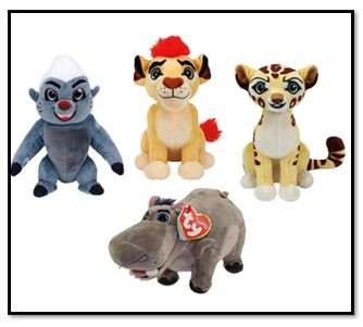 Lion Guard Beanie Baby Set