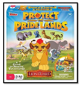 Disney's The Lion Guard Protect the Pride Lands Board Game