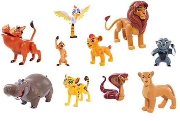 New Lion Guard Figure Set